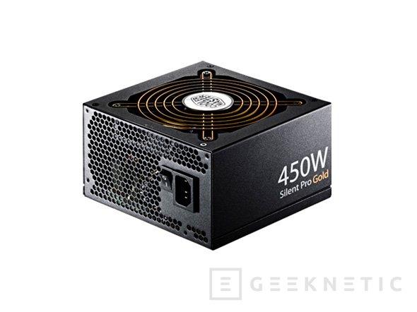 Cooler Master amplía su gama de fuentes pasivas con dos nuevos modelos de 450 y 550 W de potencia, Imagen 1