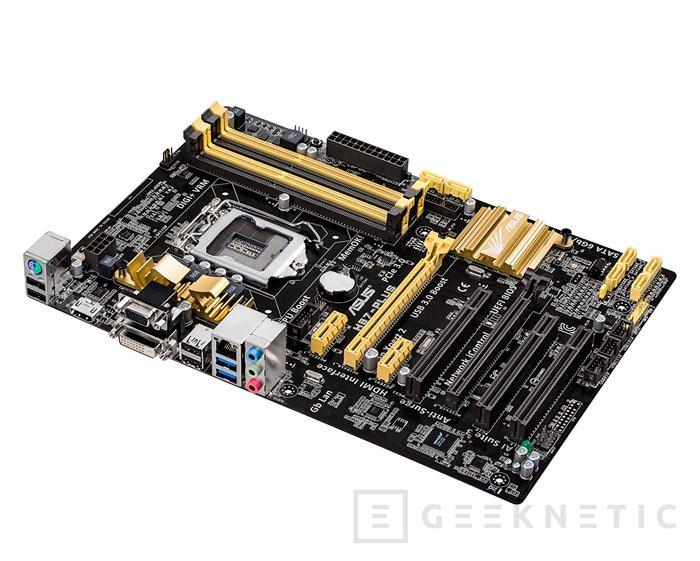 ASUS también permite realizar overclock en sus placas base con chipsets H87 y B85, Imagen 1