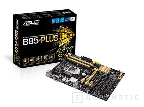 ASUS también permite realizar overclock en sus placas base con chipsets H87 y B85, Imagen 2