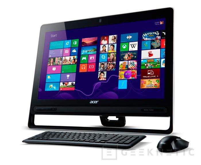 Acer lanza al mercado el Aspire Z3-605, un ordenador todo en uno con pantalla táctil y procesador Haswell, Imagen 1