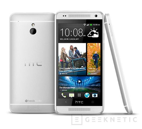HTC One Mini, una versión más pequeña en tamaño y hardware del buque insignia de la compañía, Imagen 2