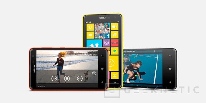 Nokia Lumia 625, llega el smartphone con soporte LTE más barato del mercado, Imagen 1