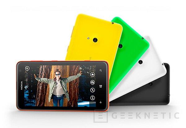 Nokia Lumia 625, llega el smartphone con soporte LTE más barato del mercado, Imagen 2