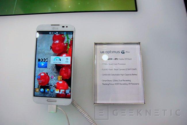 Llega el LG Optimus G Pro a España, Imagen 1