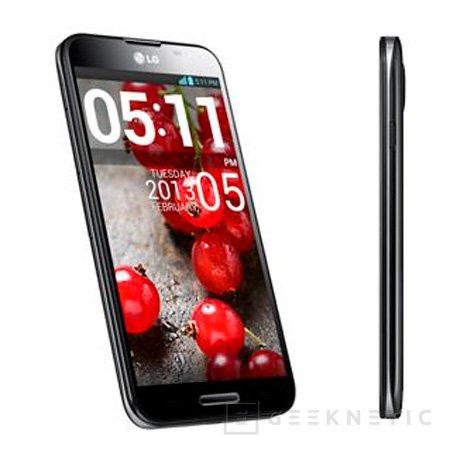 Llega el LG Optimus G Pro a España, Imagen 2