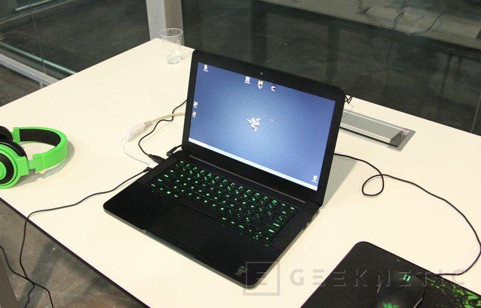 Probamos los nuevos equipos gaming de Razer en la Dreamhack 2013, Imagen 2