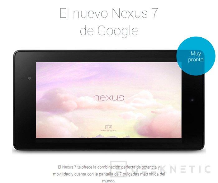 Google presenta oficialmente la segunda generación de su tablet Nexus 7 con Android 4.3, Imagen 3