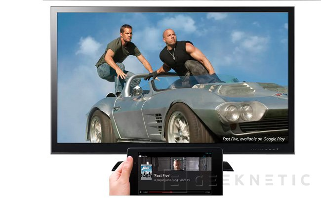 Google presenta Chromecast, un pequeño pincho HDMI para transmitir contenidos a la TV, Imagen 3