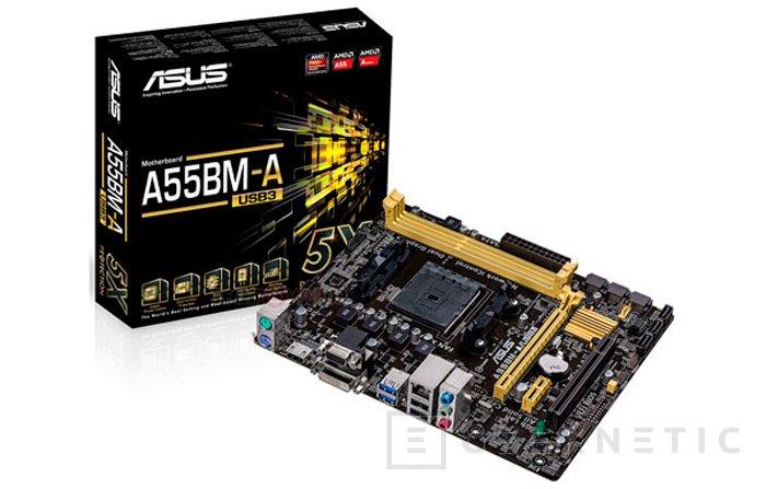 ASUS A88XM-A y A55BM-A, llegan las primeras placas con socket FM2+ de AMD al mercado, Imagen 2