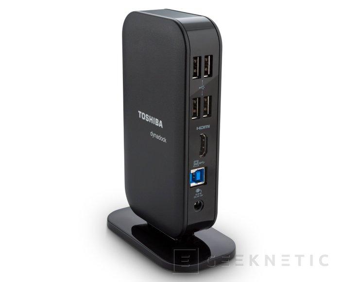 Toshiba presenta el nuevo Dinadock V3, Imagen 1