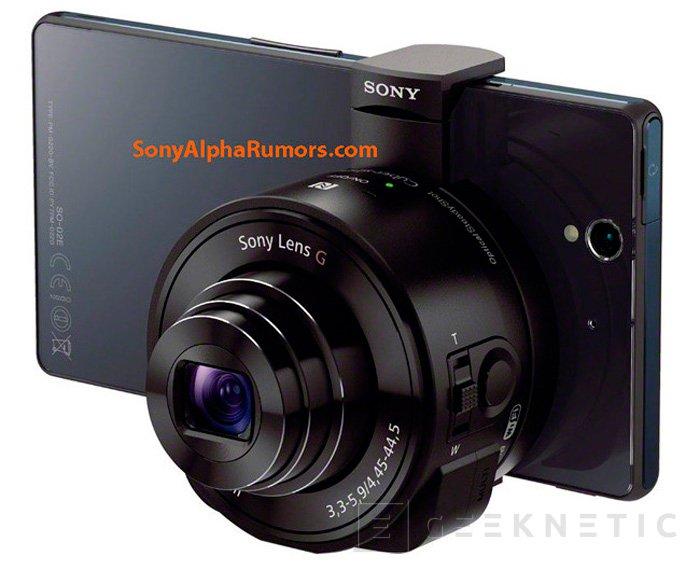 Sony está trabajando en módulos externos de cámara con sensor y objetivo para móviles, Imagen 1