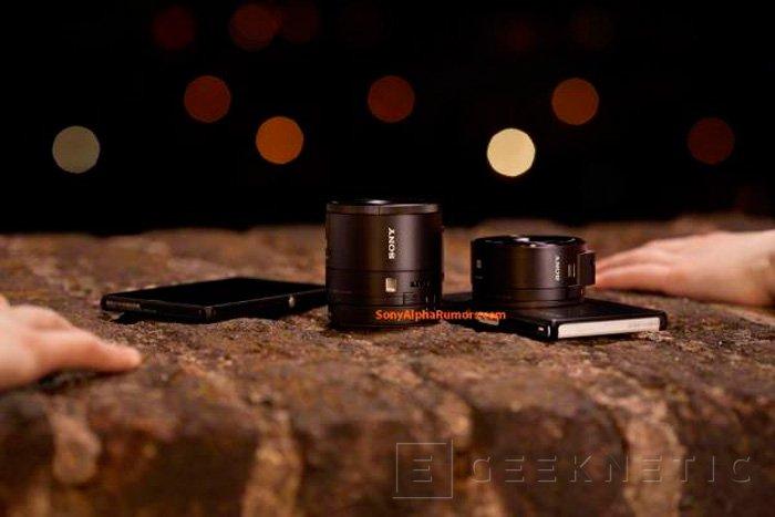 Sony está trabajando en módulos externos de cámara con sensor y objetivo para móviles, Imagen 3