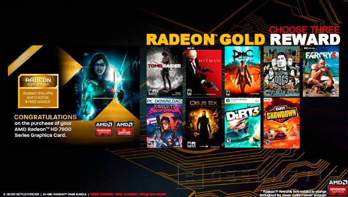 AMD actualiza el catálogo de juegos gratuitos con sus gráficas con Never Settle Forever, Imagen 1