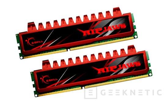 G.Skill porta su gama Ripjaws de memorias DDR3 de alto rendimiento al formato SO-DIMM para portátiles, Imagen 1