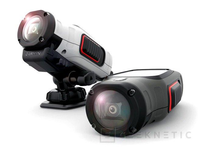 Garmin se introduce en el mercado de las cámaras deportivas con su nuevo modelo VIRB, Imagen 1
