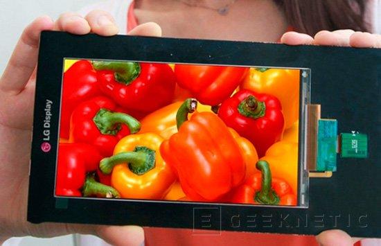 LG está trabajando en una pantalla para smartphones de 2.560 x 1.440 píxeles de resolución, Imagen 1