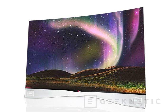 LG 55EA9800, llegan los televisores OLED curvados a Europa, Imagen 1
