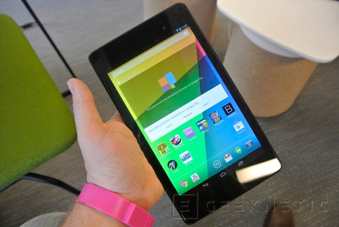 Ya disponible la nueva tablet nexus 7 de Google en España, Imagen 1