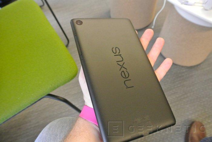 Ya disponible la nueva tablet nexus 7 de Google en España, Imagen 3