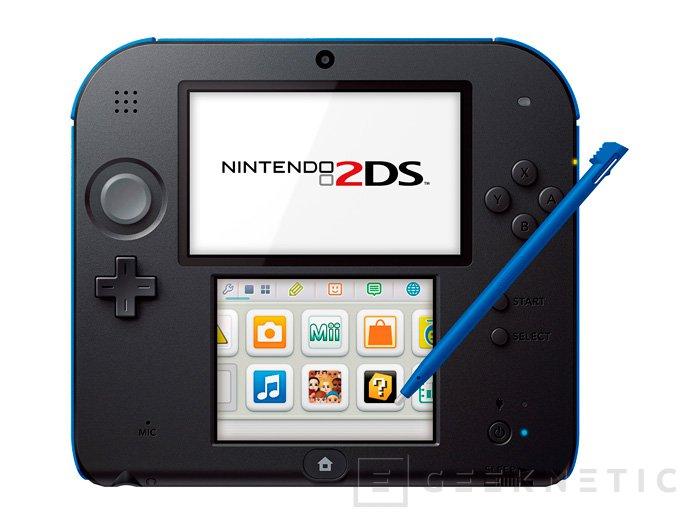 Nintendo anuncia la nueva consola portátil Nintendo 2DS, Imagen 1