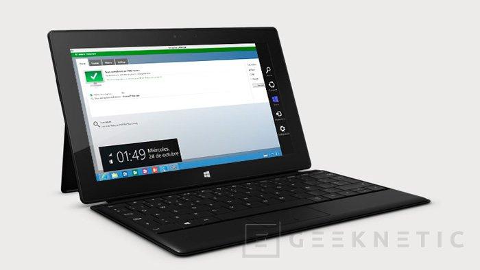 Microsoft rebaja hasta los 779 Euros el tablet Surface Pro, Imagen 1