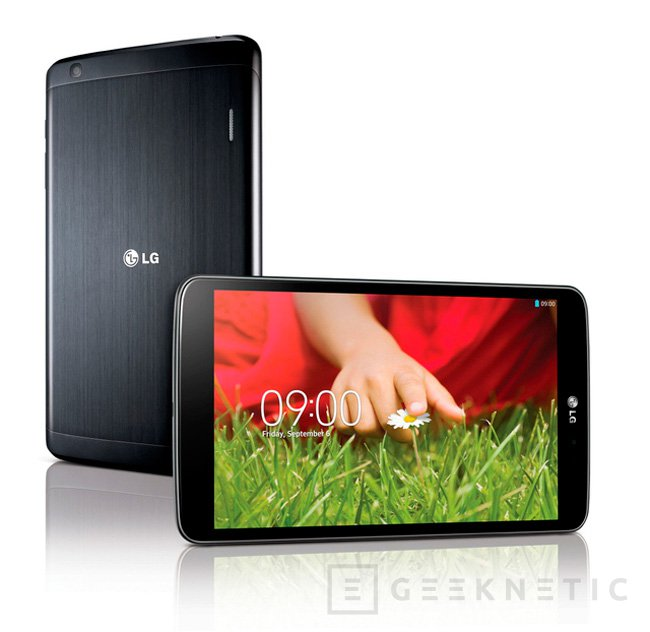 LG G PAD 8.3, un nuevo tablet de 8 pulgadas con resolución de 1920 x 1200 píxeles, Imagen 1