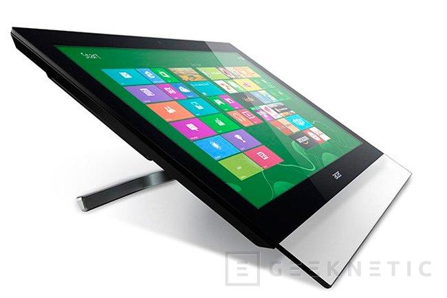 IFA 2013. Acer T272HUL, la pantalla multitáctil con resolución WQHD costará 799 Euros, Imagen 2