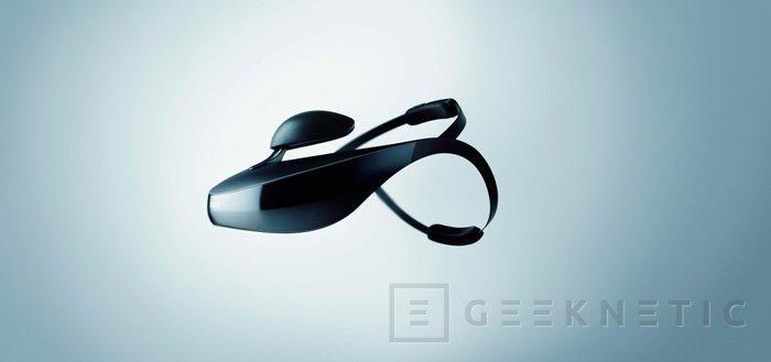 IFA 2013. Sony HMZ-T3W, nuevas gafas con pantallas integradas inalámbricas, Imagen 3