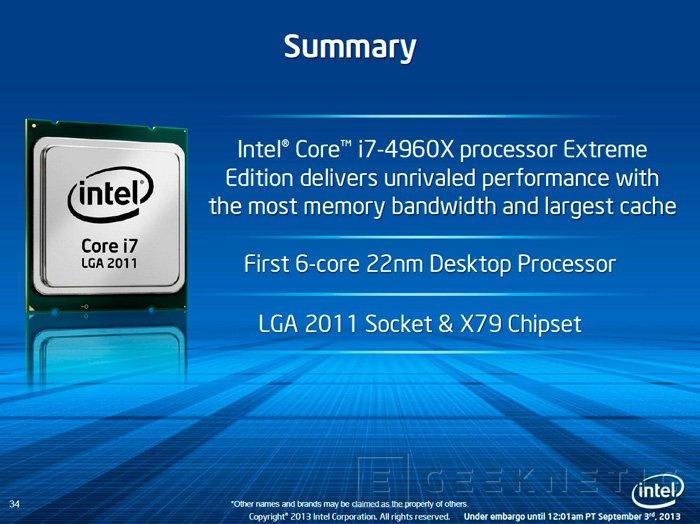 Intel presenta oficialmente los nuevos procesadores de gama alta Ivy Bridge-E, Imagen 1