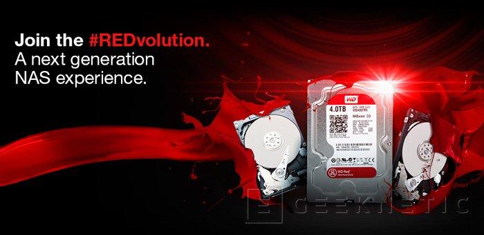 Western Digital RED, nuevos discos duros especialmente pensados para NAS, Imagen 1
