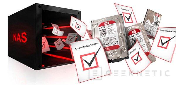 Western Digital RED, nuevos discos duros especialmente pensados para NAS, Imagen 2