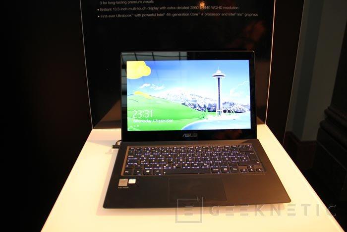 IFA 2013. ASUS ZenBook UX301, un nuevo Ultrabook de 13 pulgadas con 2560 x 1440 píxeles de resolución, Imagen 3