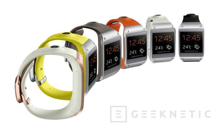 IFA 2013. Samsung se apunta a la creciente moda de los relojes inteligentes con su Galaxy Gear , Imagen 1