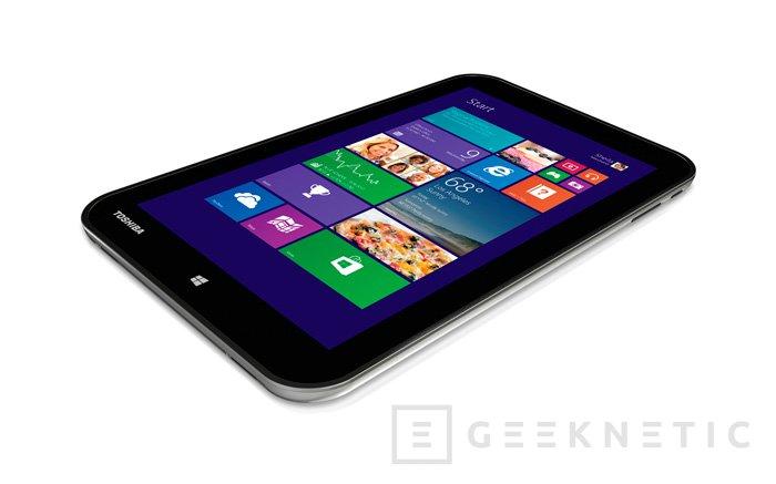 IFA 2013. Toshiba Encore llega en forma de tablet de 8 pulgadas con Windows 8.1 y un Intel Atom Bay Trail, Imagen 1