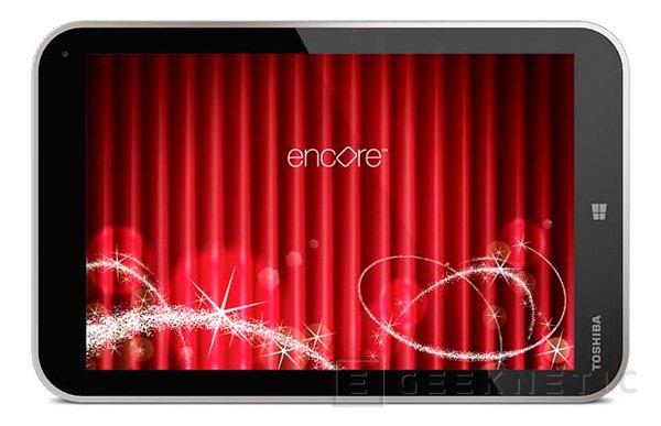 IFA 2013. Toshiba Encore llega en forma de tablet de 8 pulgadas con Windows 8.1 y un Intel Atom Bay Trail, Imagen 2