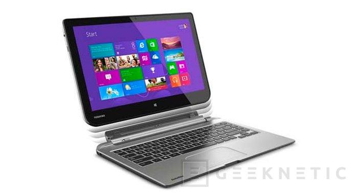 IFA 2013. Satellite Click, Llegan dos nuevos tablets híbridos de la mano de Toshiba, Imagen 1
