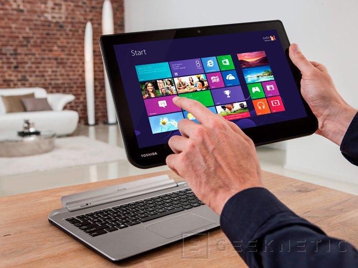 IFA 2013. Satellite Click, Llegan dos nuevos tablets híbridos de la mano de Toshiba, Imagen 2