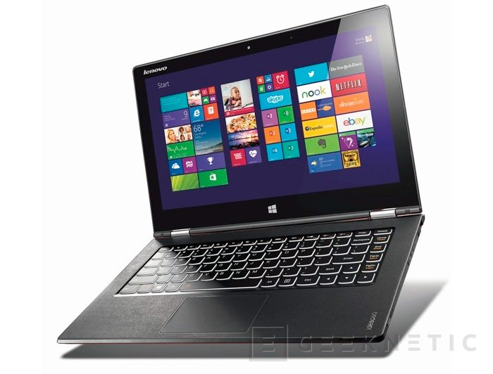 IFA 2013. Lenovo Yoga 2 Pro, un ultrabook convertible con pantalla de 3.200 x 1.800 píxeles de resolución, Imagen 1