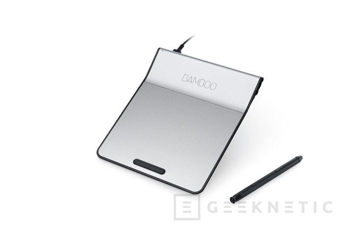 Wacom lanza el Bamboo Pad, un pad táctil para ordenador con stylus incorporado, Imagen 1