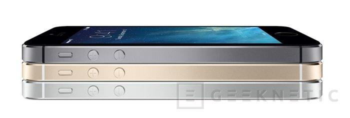Apple presenta el iPhone 5S con procesador de 64 bits, Imagen 1