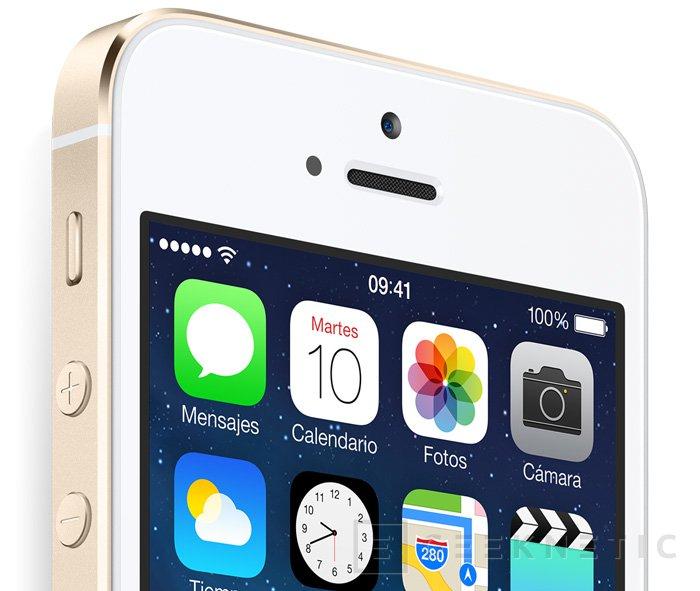 Apple presenta el iPhone 5S con procesador de 64 bits, Imagen 3