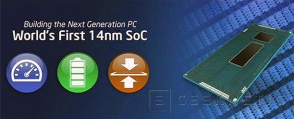Intel muestra sus primeros procesadores fabricados a 14 nm, Imagen 1