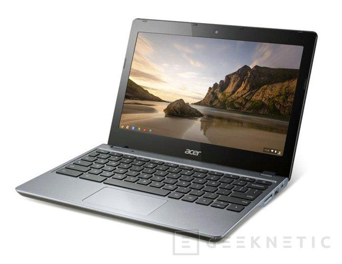 Intel y Google anuncian 4 nuevos dispositivos con Chrome OS y chips Haswell, Imagen 1