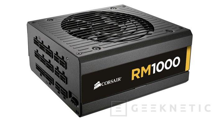 Corsair RM Series, nueva familia de fuentes modulares , Imagen 1