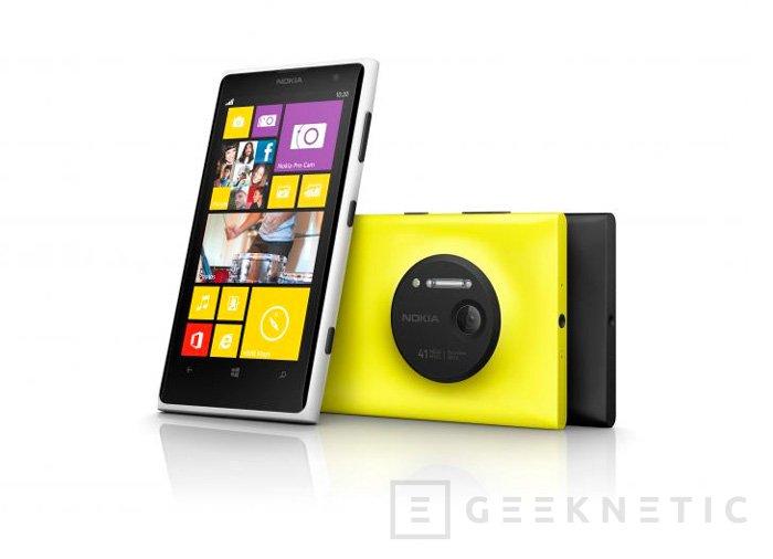 Movistar lanzará en exclusiva el Nokia Lumia 1020 de 64 GB en octubre, Imagen 1