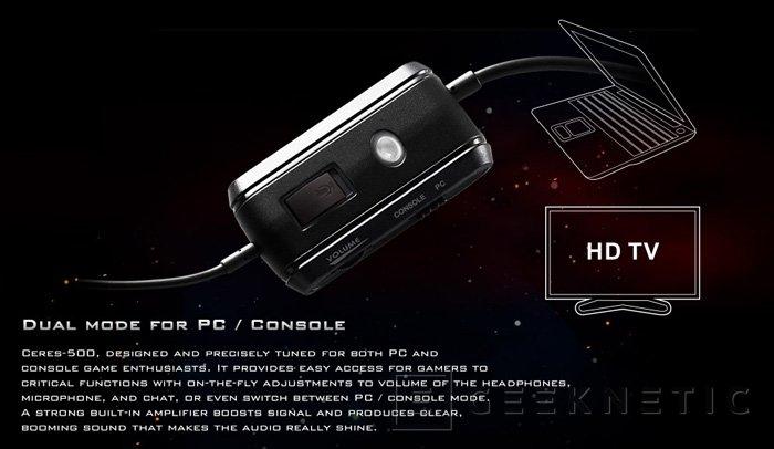 CM Storm añade dos nuevos modelos a su gama de auriculares gaming Ceres, Imagen 2