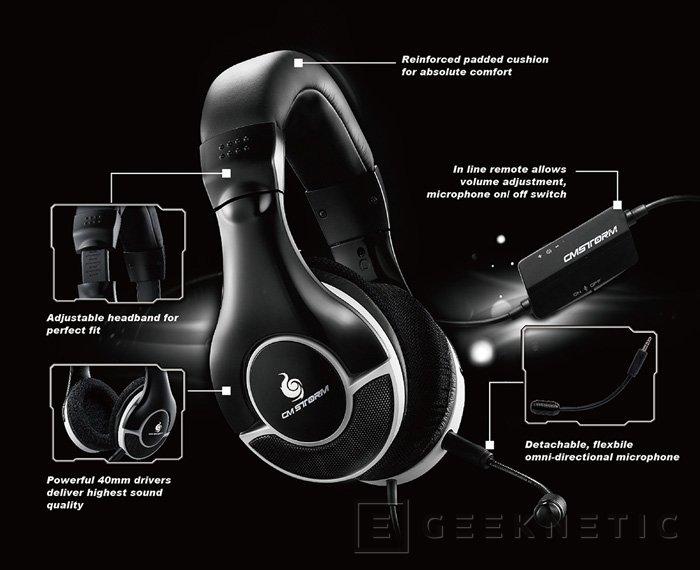 CM Storm añade dos nuevos modelos a su gama de auriculares gaming Ceres, Imagen 3