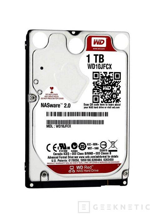 Western Digital lanza nuevos discos duros WD Green de 4 TB y WD Red en formato 2.5