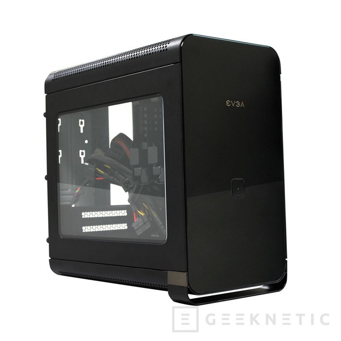 EVGA Hadron Air, torre Mini-ITX para equipos potentes, Imagen 1