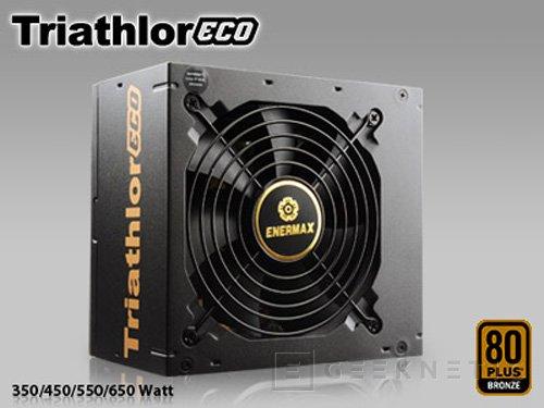 Enermax presenta la gama de fuentes Triathlor ECO , Imagen 1